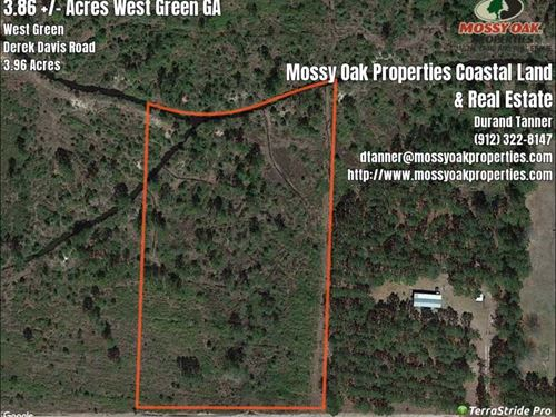3.86 Acres Near West Green, Ga : West Green : Coffee County : Georgia