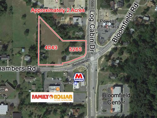 Two Lots Sold Together : Macon : Bibb County : Georgia
