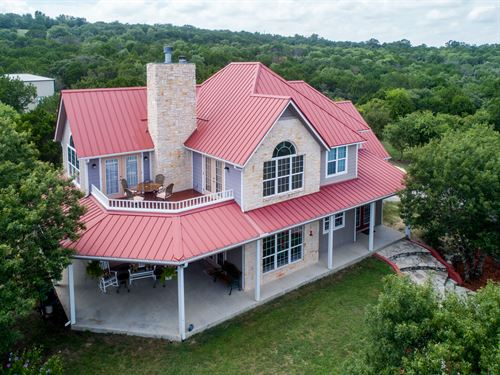 Fabulous Home In Scenic Mt. Lakes : Bluff Dale : Erath County : Texas