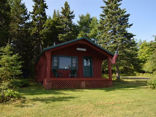 Ugottawanna Maine Cabin : Oxbow : Aroostook County : Maine