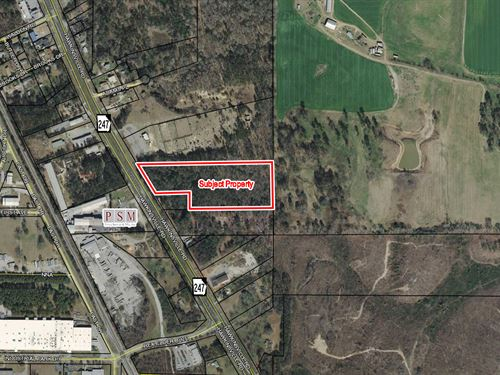 9.82 Acres For Sale : Macon : Bibb County : Georgia