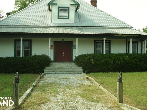 Blackhorse Retreat : Cliftonville : Noxubee County : Mississippi