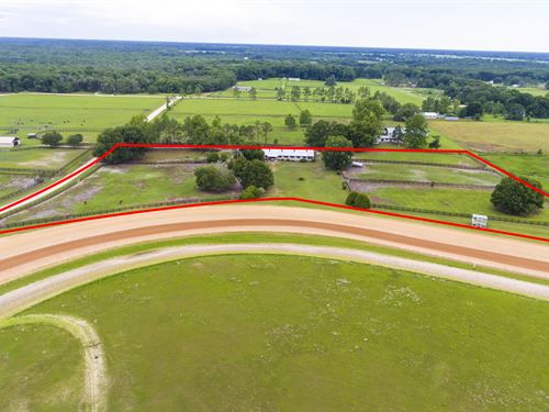 Standardbred Training Facility : Bell : Gilchrist County : Florida