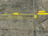 Level Lot + Water + Paved Rd Access : Imperial : Pecos County : Texas