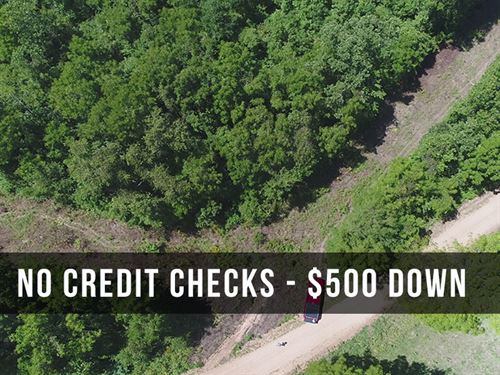 6 Acres With County Road Frontage : Hartville : Wright County : Missouri