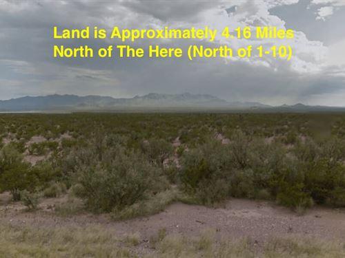 20 Acres- Sierra Blanca, Texas 7985 : Sierra Blanca : Hudspeth County : Texas