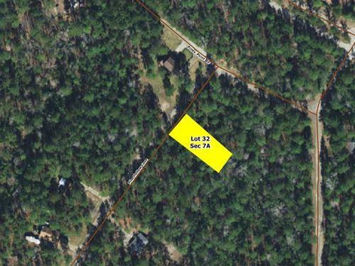 .32 Acres In Brookeland, tx : Brookeland : Jasper County : Texas