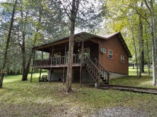 1.34 Ac W/ Cabin, Shed Walk To Lake : Gainesboro : Jackson County : Tennessee