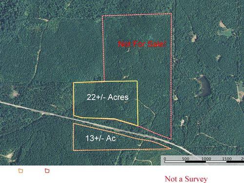 13+/- Acre Homesite Minutes To I-59 : Springville : Saint Clair County : Alabama