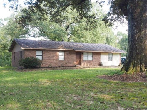 3 Br 2 Bath House With 3 Acres Sout : Tylertown : Walthall County : Mississippi