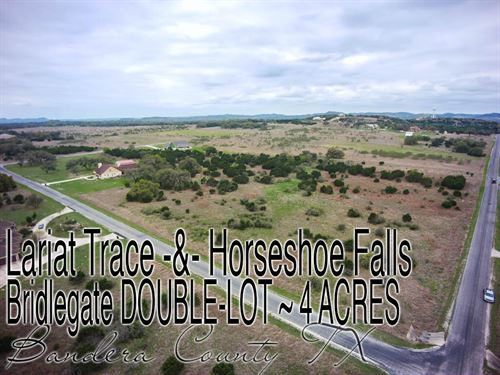 4.01 Acres In Bandera County : Bandera : Texas