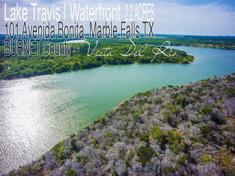 2 22 Acres In Burnet County Lot For Sale Marble Falls