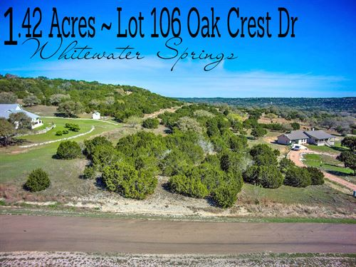 1.48 Acres In Burnet County : Bertram : Burnet County : Texas