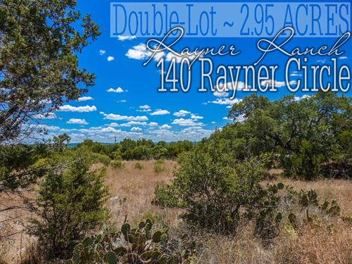 2.95 Acres In Comal County : Spring Branch : Comal County : Texas