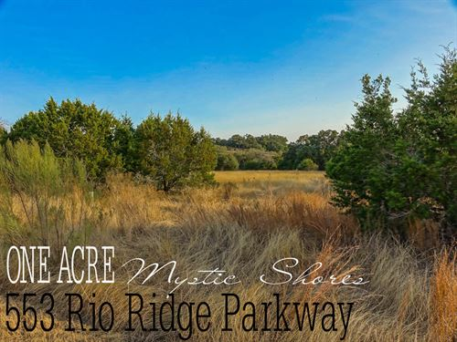 1.05 Acres In Comal County : Spring Branch : Comal County : Texas