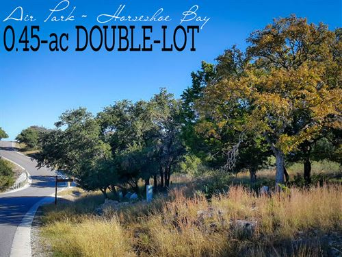 .45 Acres In Llano County : Horseshoe Bay : Llano County : Texas