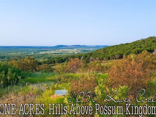 1.01 Acres In Palo Pinto County : Graford : Palo Pinto County : Texas
