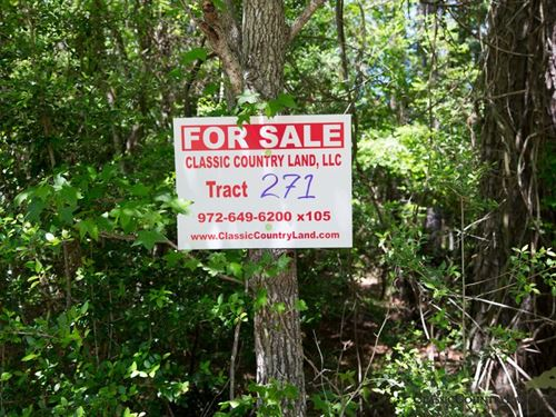 Rayburn Country Tract 271 : Brookeland : Jasper County : Texas