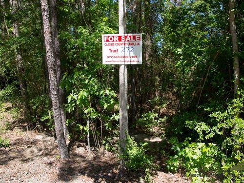 Rayburn Country Tract 272 : Brookeland : Jasper County : Texas
