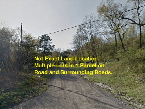 6.50 Acres- Larksville, Pa : Larksville : Luzerne County : Pennsylvania