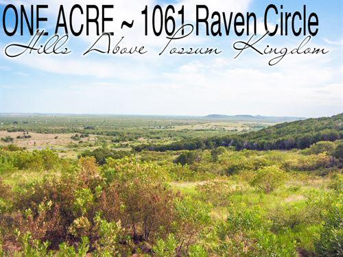 1 Acre In Palo Pinto County : Graford : Palo Pinto County : Texas