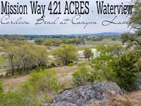4.21 Acres In Comal County : Canyon Lake : Comal County : Texas