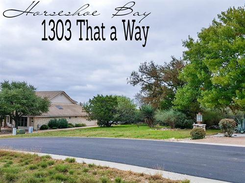 .32 Acres In Llano County : Horseshoe Bay : Llano County : Texas