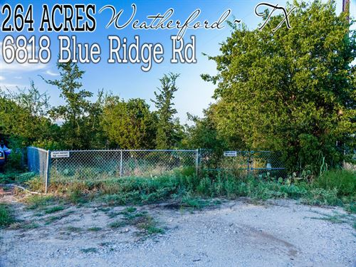 2.64 Acres In Hood County : Weatherford : Hood County : Texas