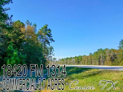3.73 Acres In Montgomery County : Conroe : Montgomery County : Texas