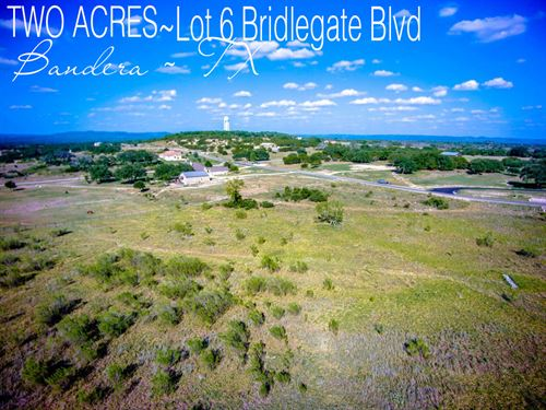 2.01 Acres In Bandera County : Bandera : Texas