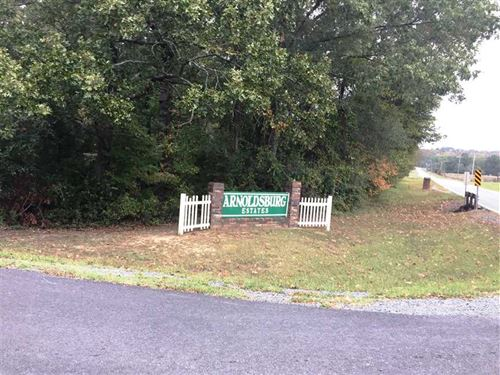 3.97 Acre Lot in Arnoldsburg Estat : Conway : Faulkner County : Arkansas