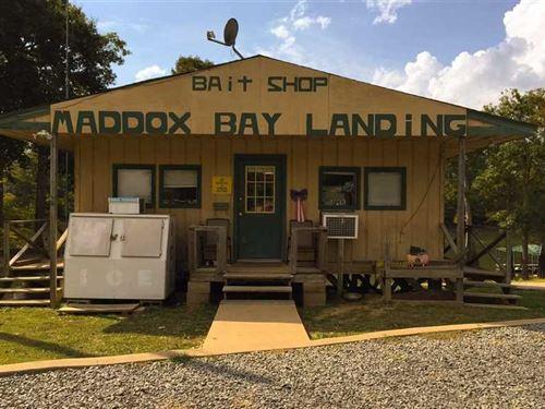 New Price, Maddox Bay Landing For : Holly Grove : Monroe County : Arkansas