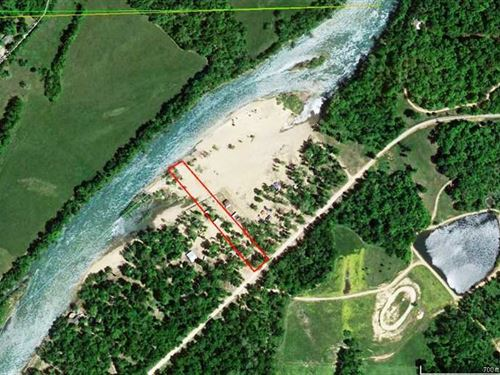 1 Acre Current River Frontage Lot : Doniphan : Ripley County : Missouri
