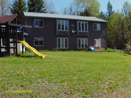 Waterfront Property For Sale in Ma : Pembine : Marinette County : Wisconsin