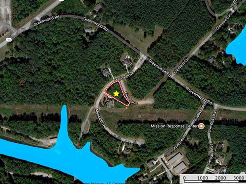 .73 Ac Lot in Gated Subdivision : Terrell : Catawba County : North Carolina