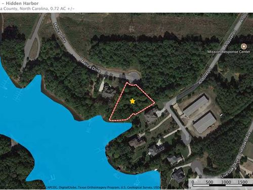 Waterfront Lot in Gated Community : Terrell : Catawba County : North Carolina