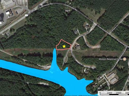 1 Ac Lot in Gated Subdivision : Terrell : Catawba County : North Carolina