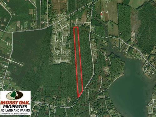 Reduced, 19.72 Acres of Residenti : Gloucester : Carteret County : North Carolina