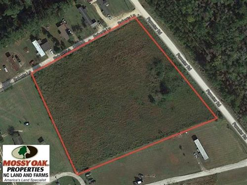 Under Contract, 3.36 Acre Lot For : Hallsboro : Columbus County : North Carolina