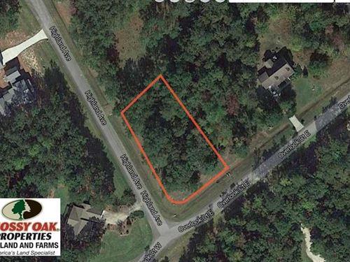 Reduced,.52 Acre Residential Lot : Grantsboro : Pamlico County : North Carolina