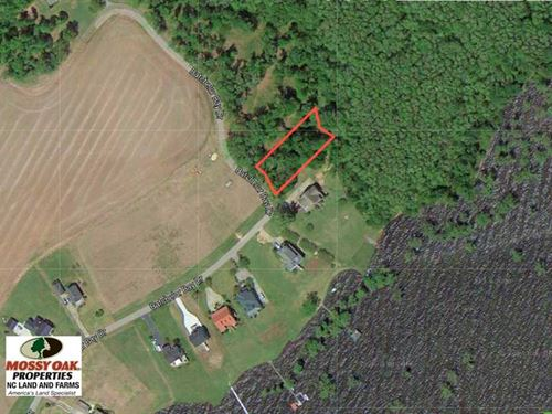 .5 Acres of Waterview Lot For Sale : Windsor : Bertie County : North Carolina