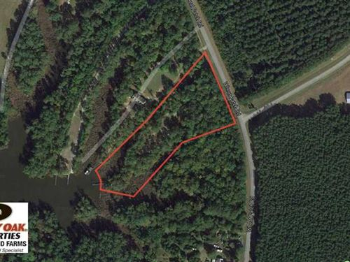 Reduced, 3.76 Acres of Waterfront : Belhaven : Beaufort County : North Carolina