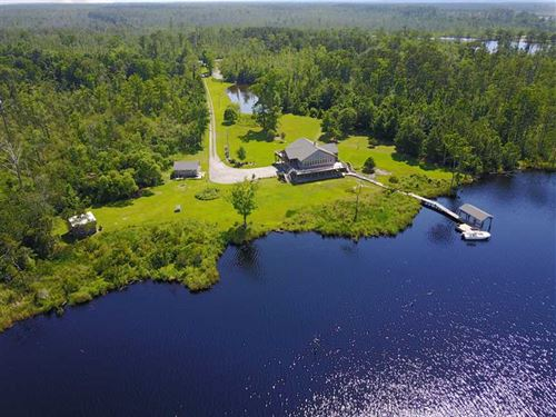 Under Contract, Waterfront Home : Columbia : Tyrrell County : North Carolina