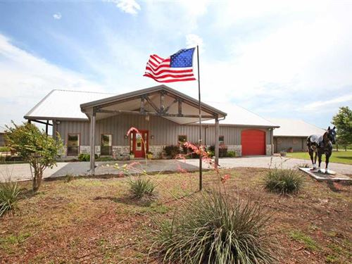 Custom Metal Building Home With ep : Tom Bean : Grayson County : Texas