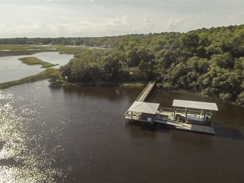Deep Water Land For Sale in St.Mar : Saint Marys : Camden County : Georgia