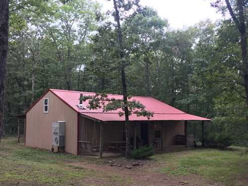 Cabin And 20 ac in Clinton AR : Clinton : Van Buren County : Arkansas