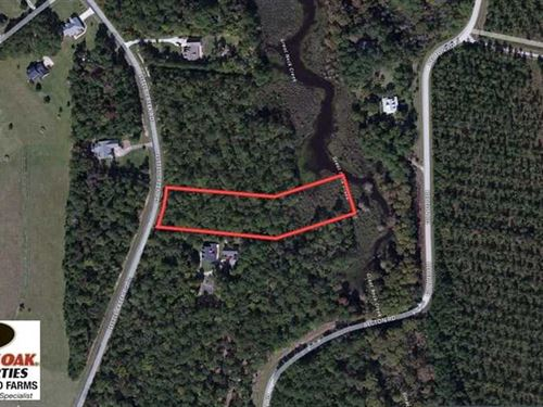 Reduced, 2.01 Acre Residential Wa : Havelock : Craven County : North Carolina