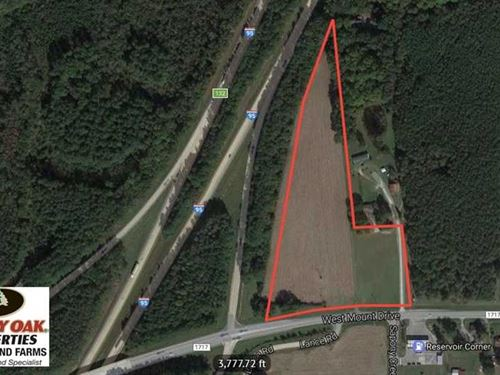 10.87 Acres of Commercial And Inve : Nashville : Nash County : North Carolina