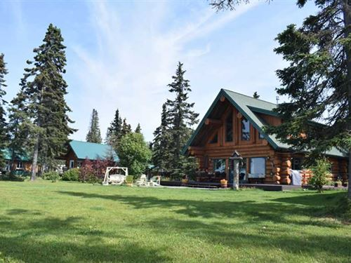 Bear Necessities B&B Cabins Oceanf : Kenai : Kenai Peninsula Borough : Alaska