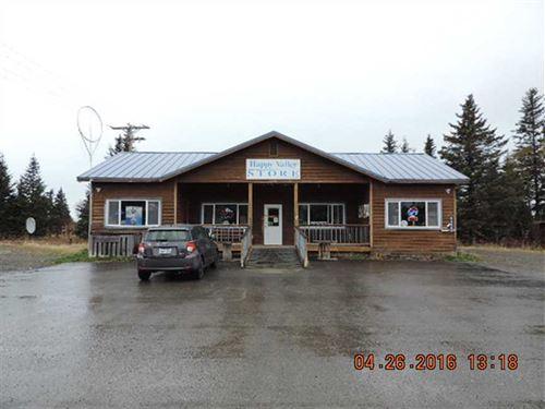 Country Store, Bar /Cafe And Packa : Anchor Point : Kenai Peninsula Borough : Alaska